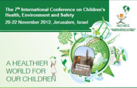 סיכום מדעי של כנס בינלאומי – בריאות סביבה בילדים